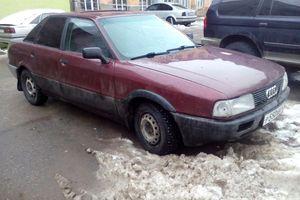 Автомобиль Audi 80, хорошее состояние, 1989 года выпуска, цена 70 000 руб., Псков