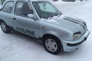 Автомобиль Nissan March, хорошее состояние, 1994 года выпуска, цена 100 000 руб., Новосибирская область