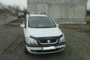 Подержанный автомобиль Opel Zafira, хорошее состояние, 2000 года выпуска, цена 170 000 руб., Кыштым