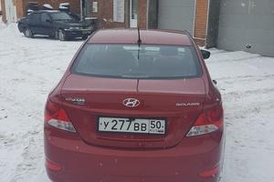 Подержанный автомобиль Hyundai Solaris, отличное состояние, 2013 года выпуска, цена 600 000 руб., Серпухов