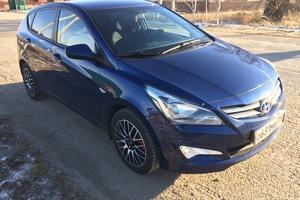 Подержанный автомобиль Hyundai Solaris, отличное состояние, 2014 года выпуска, цена 550 000 руб., Коломна