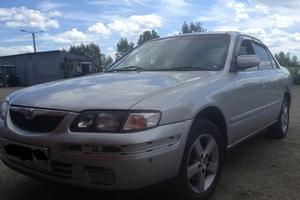 Автомобиль Mazda Capella, среднее состояние, 1997 года выпуска, цена 105 000 руб., Челябинск