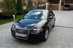 Подержанный автомобиль Audi A3, хорошее состояние, 2008 года выпуска, цена 410 000 руб., Дмитров