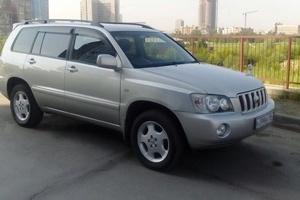 Автомобиль Toyota Kluger, отличное состояние, 2002 года выпуска, цена 590 000 руб., Новосибирск