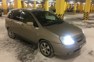 Автомобиль Suzuki Aerio, хорошее состояние, 2002 года выпуска, цена 150 000 руб., Череповец