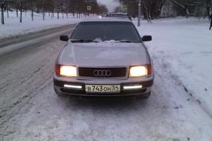 Автомобиль Audi 100, хорошее состояние, 1992 года выпуска, цена 180 000 руб., Новокузнецк