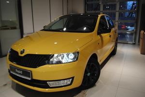 Авто Skoda Rapid, 2016 года выпуска, цена 1 064 634 руб., Москва
