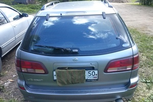 Подержанный автомобиль Nissan Avenir, битый состояние, 2000 года выпуска, цена 40 000 руб., Солнечногорск