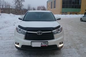 Автомобиль Toyota Highlander, отличное состояние, 2014 года выпуска, цена 2 350 000 руб., Фрязино