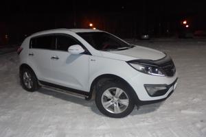 Подержанный автомобиль Kia Sportage, хорошее состояние, 2012 года выпуска, цена 800 000 руб., Сургут