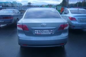 Автомобиль Toyota Avensis, отличное состояние, 2010 года выпуска, цена 800 000 руб., Нягань
