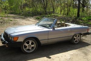 Автомобиль Mercedes-Benz SL-Класс, хорошее состояние, 1983 года выпуска, цена 1 700 000 руб., Самара