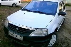 Подержанный автомобиль Renault Logan, хорошее состояние, 2011 года выпуска, цена 205 000 руб., Челябинск