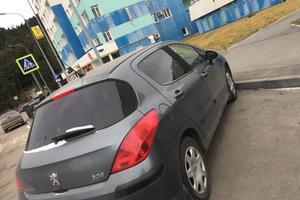 Автомобиль Peugeot 308, хорошее состояние, 2008 года выпуска, цена 360 000 руб., Ханты-Мансийск