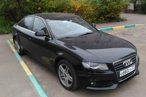 Автомобиль Audi A4, отличное состояние, 2009 года выпуска, цена 650 000 руб., Щелково