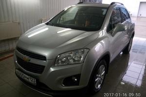 Автомобиль Chevrolet Tracker, отличное состояние, 2015 года выпуска, цена 1 000 000 руб., Краснодар