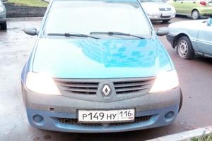 Подержанный автомобиль Renault Logan, отличное состояние, 2008 года выпуска, цена 170 000 руб., Набережные Челны