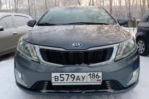 Автомобиль Kia Rio, отличное состояние, 2014 года выпуска, цена 599 000 руб., Сургут