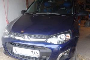 Автомобиль ВАЗ (Lada) Kalina, отличное состояние, 2014 года выпуска, цена 400 000 руб., Магнитогорск