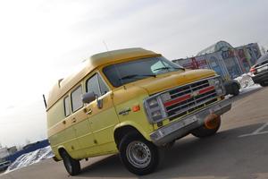 Подержанный автомобиль Chevrolet Van, отличное состояние, 1993 года выпуска, цена 229 000 руб., Москва