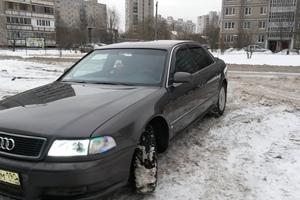 Подержанный автомобиль Audi A8, хорошее состояние, 1996 года выпуска, цена 250 000 руб., Домодедово