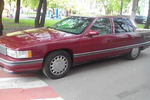 Автомобиль Cadillac De Ville, среднее состояние, 1994 года выпуска, цена 310 000 руб., Москва