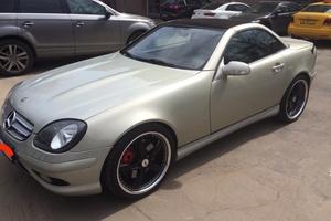 Автомобиль Mercedes-Benz SLK-Класс, хорошее состояние, 2001 года выпуска, цена 668 000 руб., Москва