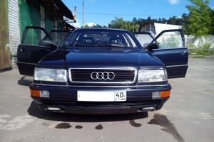 Автомобиль Audi V8 (D11), хорошее состояние, 1989 года выпуска, цена 175 000 руб., Калуга
