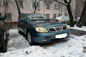 Автомобиль Daewoo Leganza, хорошее состояние, 1997 года выпуска, цена 120 000 руб., Москва
