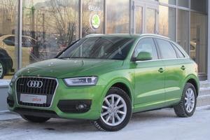 Подержанный автомобиль Audi Q3, отличное состояние, 2013 года выпуска, цена 1 345 000 руб., Екатеринбург