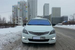 Подержанный автомобиль Hyundai Solaris, отличное состояние, 2015 года выпуска, цена 530 000 руб., Химки