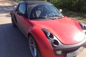 Автомобиль Smart Roadster, хорошее состояние, 2003 года выпуска, цена 380 000 руб., Самарская область