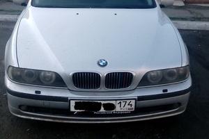Автомобиль BMW 5 серия, хорошее состояние, 2002 года выпуска, цена 360 000 руб., Челябинск