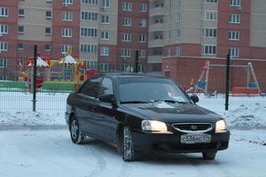 Автомобиль Hyundai Accent, отличное состояние, 2008 года выпуска, цена 245 000 руб., Челябинск