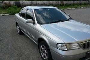 Автомобиль Nissan Sunny, среднее состояние, 2002 года выпуска, цена 170 000 руб., Челябинск