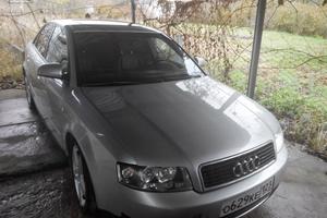 Подержанный автомобиль Audi A4, хорошее состояние, 2002 года выпуска, цена 320 000 руб., Крымск