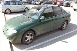 Подержанный автомобиль Hyundai Lantra, хорошее состояние, 1997 года выпуска, цена 220 000 руб., Сургут
