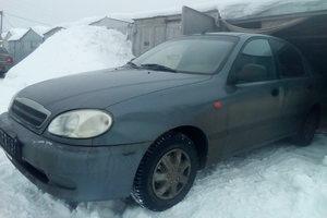 Автомобиль ЗАЗ Sens, среднее состояние, 2009 года выпуска, цена 55 000 руб., Оренбург