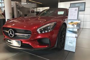 Авто Mercedes-Benz AMG GT, 2015 года выпуска, цена 9 100 000 руб., Краснодар