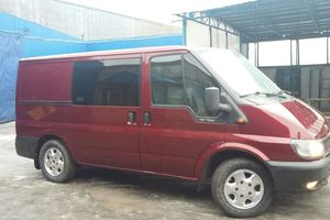 Автомобиль Ford Transit Custom, хорошее состояние, 2002 года выпуска, цена 380 000 руб., Санкт-Петербург