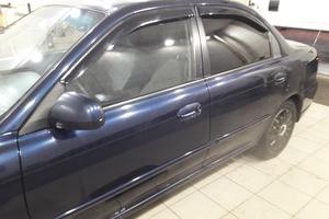 Автомобиль Kia Spectra, среднее состояние, 2008 года выпуска, цена 190 000 руб., Чехов