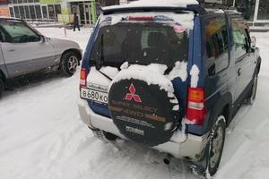 Автомобиль Mitsubishi Pajero Mini, хорошее состояние, 1999 года выпуска, цена 190 000 руб., Хабаровск