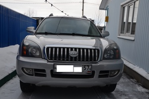 Автомобиль JAC Rein, отличное состояние, 2007 года выпуска, цена 400 000 руб., Орел