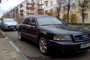 Подержанный автомобиль Audi A8, хорошее состояние, 1999 года выпуска, цена 320 000 руб., Балашиха