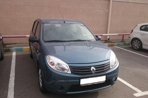 Подержанный автомобиль Renault Sandero, хорошее состояние, 2011 года выпуска, цена 350 000 руб., Люберцы