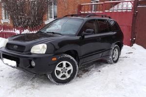 Подержанный автомобиль Hyundai Santa Fe, хорошее состояние, 2002 года выпуска, цена 350 000 руб., Серпухов
