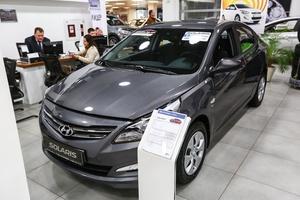 Авто Hyundai Solaris, 2016 года выпуска, цена 887 400 руб., Москва