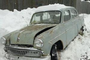 Автомобиль Москвич 402, плохое состояние, 1960 года выпуска, цена 16 000 руб., Санкт-Петербург
