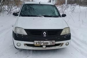 Подержанный автомобиль Renault Logan, хорошее состояние, 2007 года выпуска, цена 170 000 руб., Набережные Челны