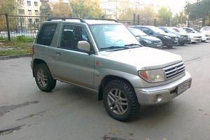 Автомобиль Mitsubishi Pajero Pinin, среднее состояние, 2001 года выпуска, цена 295 000 руб., Тюмень